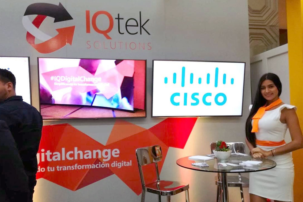 IQtek, #IQdigitalchange on Tech Day 2018 Dominican Republic
